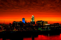 Downtown Omaha Skyline